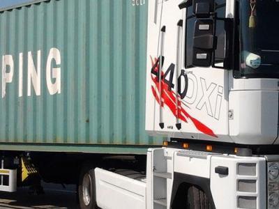 Transport kontenera morskiego